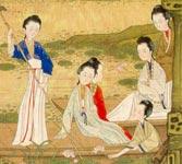 Придворные дамы, XVII-XVIII век